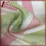 30 coton estampé de la soie 69 avec le tissu mélangé par jacquard de ruban