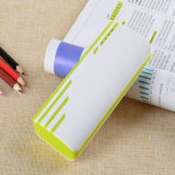 Colorful Ripple Design Mobile Power Bank 10000mAh avec 3PCS USB