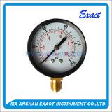 Indicateur de pression en acier Manomètre-Inoxidable rempli par liquide de Mesurer-Pétrole de pression de tube de bourdon