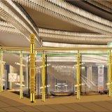 Колонка Railing лестницы акрилового стекла конструкции способа крытая