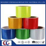 交通安全(C3500-OXG)のためのPVC緑の反射粘着テープ