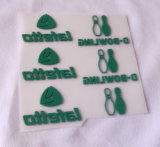 Kundenspezifische Plastisol-Drucken-Wärmeübertragung-Aufkleber/Kennsätze/Marken für Kleid