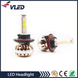 Preço barato H7 H3 H4 9005 auto luz do diodo emissor de luz 9006 H11 com ventilador