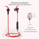 De draadloze Hoofdtelefoon van de Sport Bluetooth in het Lawaai die van het Oor Earbuds annuleren