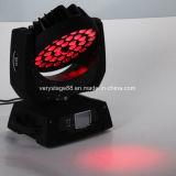 свет сигнала мытья 36PCS 10W СИД Moving головной