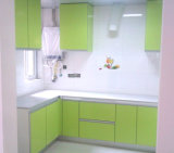MDF 2pakの光沢のある食器棚