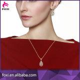 魅惑的な真鍮の宝石類の金は女の子および女性のためにセットされた宝石類をめっきした