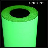 DIN67510 인쇄할 수 있는 녹색 자동 접착 Photoluminescent 표시
