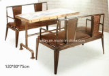Vector y silla de la barra de metal de la vendimia del estilo de América