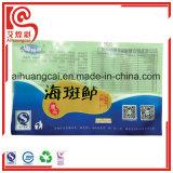 La bolsa de plástico modificada para requisitos particulares de Printind de la marca de fábrica para el empaquetamiento al vacío de los mariscos