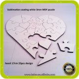 China Super 3mm MDF Jigsaw Puzzle Sublimation Blank