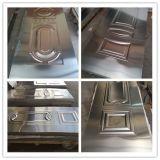 Piel de acero estampada nuevo diseño de la puerta con precio bajo
