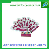Сливк упаковки картона печатание способа ресница изготовленный на заказ ложная упаковывая коробку PVC