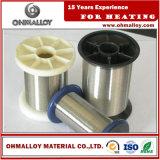 優秀な発熱体のための溶接パフォーマンスNi70cr30ワイヤーNICrによってアニールされる合金