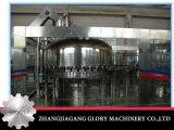 Acqua minerale della bottiglia rotativa automatica piena dell'animale domestico che risciacqua macchina di riempimento e di coperchiamento di lavaggio
