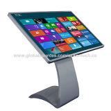 Auto-serviço do LCD do écran sensível de 55 polegadas, jogador de anúncio interno, quiosque interativo