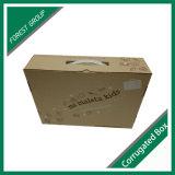 ハンドルのよい価格のハンドルのペーパーボール紙のスーツケースボックスが付いている板紙箱