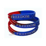 Bracelet estampé de bracelet/silicium de silicones pour l'adulte et les gosses