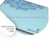 Boîte de conditionnement cosmétique en bambou-plastique de loisirs de haute qualité