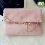 Sacs d'embrayage mignons de femmes de sac de messager d'épaule de sac à main de fourrure de lapin de Faux de mode chaude Sy8068