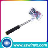 Миниый мобильный телефон Monopod Foldable Selfie Sticks with Связано проволокой