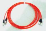 Verbindingsdraad van de Optische Vezel van het Ce- Certificaat FC aan FC Multi-Mode Om3