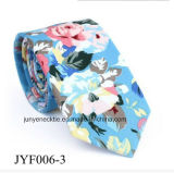 Grossiste Men's Casual Floral Printing Cotton Necktie