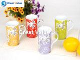 Insignia de 2017 nuevas de la porcelana de té tazas y de la impresión