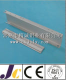Perfil de aluminio de la protuberancia del CNC que trabaja a máquina 6061 (JC-P-84036)