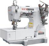 Cama plana de alta velocidad de bloqueo de costura de la serie de la máquina