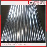 Azulejo de azotea galvanizado acanalado del metal