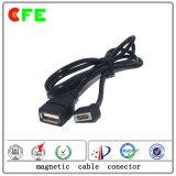 Magnetisches Kabel-aufladenverbinder des Quadrat-4pin für elektronischen Lieferanten