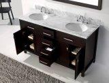 Soild Wood Conjunto de armário de banheiro Vanity Unit