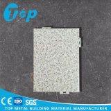 PVDF Beschichtung-einzelne Aluminiumwand für Inxerior Wand-Umhüllung-Material