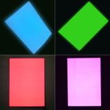다중 색깔 및 크기를 가진 EL 역광선 장