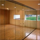 Espejo decorativo de la plata del espejo de la pared para el cuarto de baño/el uso de la gimnasia