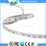 5 luz de tira ajustable de los colores 4in1 IP65 SMD5050 300LED LED