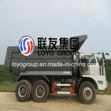 Sinotruk HOWO 6X4 50t容量のオフロード鉱山のダンプトラック