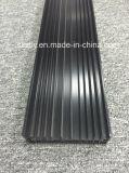 Perfil de aluminio anodizado Matt de la protuberancia de 6063 aleaciones
