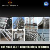 Promenade de faible puissance par bâti d'échafaudage pour la construction