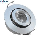 luz de techo flexible de 3W LED ahuecada