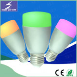 E27 220V 알루미늄 LED 전구 지능적인 WiFi 빛