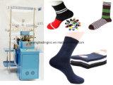 Computer-Socke, die Maschine herstellt