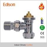 Угол полируя термостатический клапан радиатора с сертификатом En215