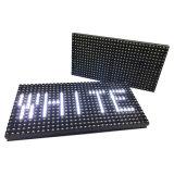Solo módulo al aire libre de la pantalla de visualización de LED del blanco P10