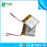 Bateria Li-ion personalizada de alta qualidade de 3.7V 1000mAh