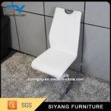 椅子を食事する現代ホテルの家具Zの形のステンレス鋼