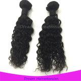 Cheveux humains brésiliens ondulés de cheveu de Vierge d'onde de Remy Jackson de Vierge