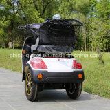 O Ce aprovou a motocicleta de três rodas para o Disabled
