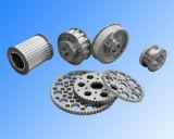 Pulegge di gomma Locked dell'alluminio della cinghia di sincronizzazione del cono industriale